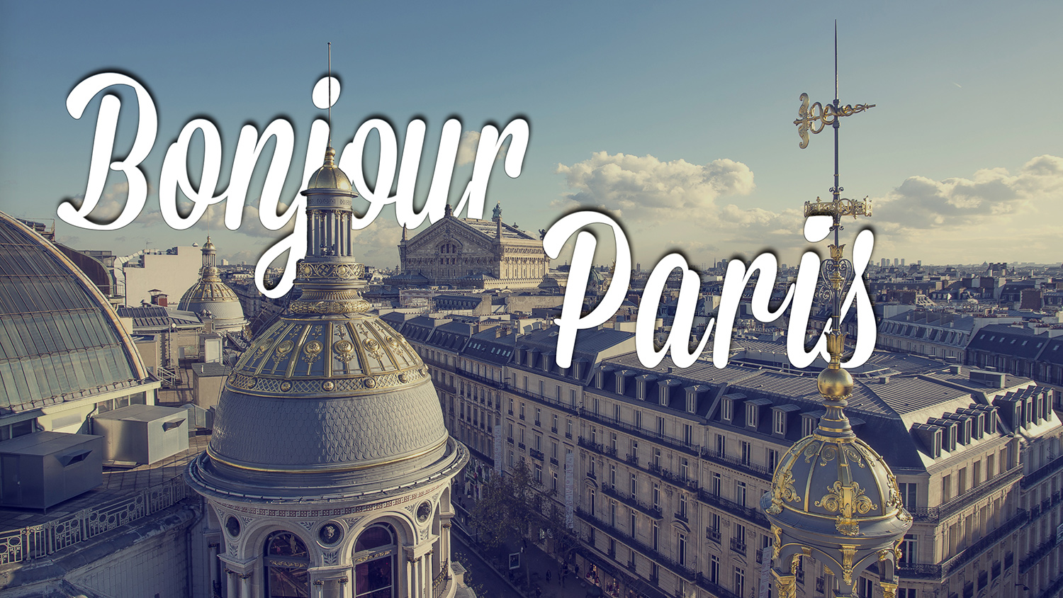 Bonjour Paris's video thumbnail